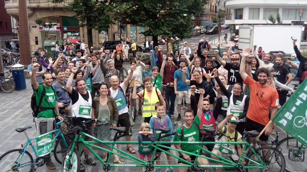 Tour Alternatiba Donostia