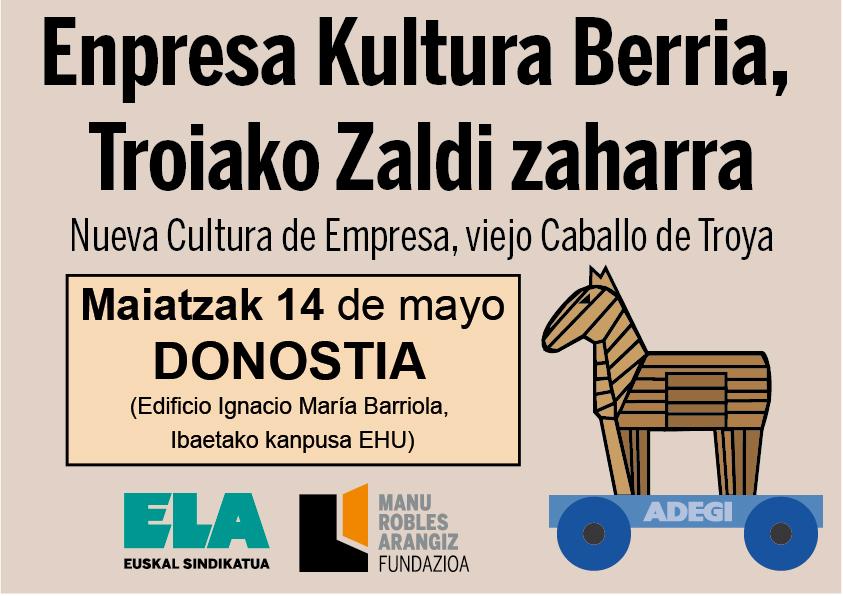 Enpresa Kultura Berria, Troiako Zaldi zaharra